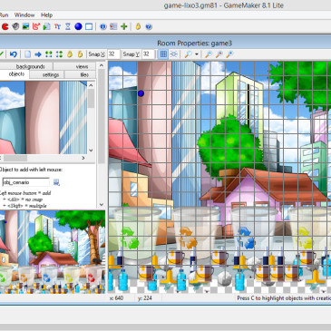 Desenvolvimento de Games com Game Maker | Part II