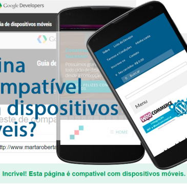O novo algoritmo do Google penaliza sites não Responsivos (sites sem a versão mobile) | MOBILE-FRIENDLY